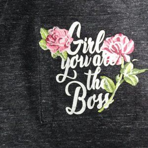 Lane Bryant Girl You Are The Boss t-shirt